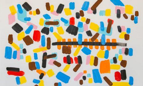 Nini-y-yo-en-las-vías-del-tren-acrílico-sobre-papel-42x60cm-897x638