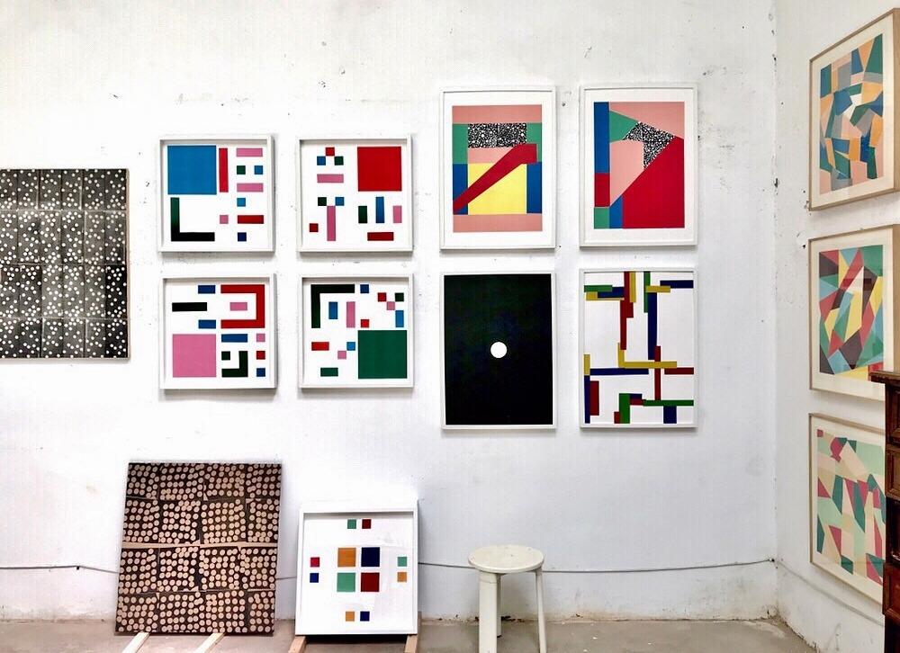 Obra artísica de Vittoria Drago, profesora de extraescolares de arte contemporáneo de PLOM Gallery