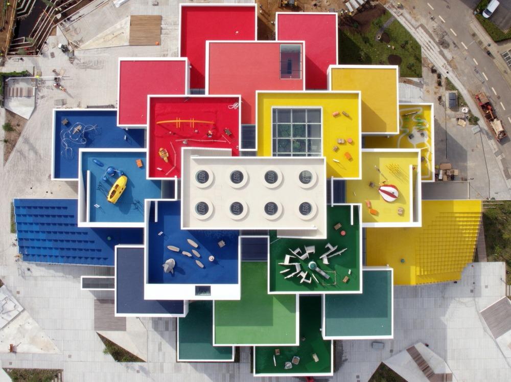 Lego House, en Billund (Dinamarca)